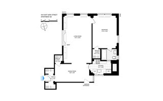 434 East 52nd Street #9D floor plan