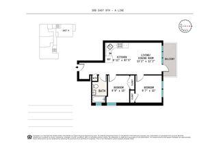 399 East 8th Street #2A floor plan