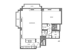 300 East 39th Street #1406 floor plan