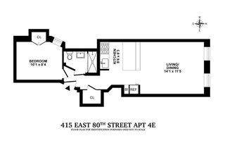 415 East 80th Street #4E floor plan