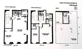 137 East 15th Street #PH floor plan
