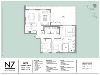 308 North 7th Street #7D floor plan