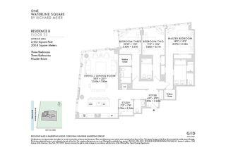 10 Riverside Boulevard #33B floor plan