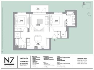 308 North 7th Street #3A floor plan