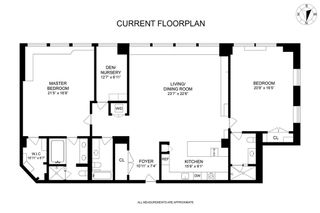130 West 30th Street #8C floor plan