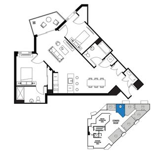 revealed rybak s not so artsy art house tops out in southern bk New York City Map floorplans of some penthouse units