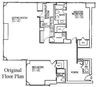 721 Fifth Avenue #49J floor plan