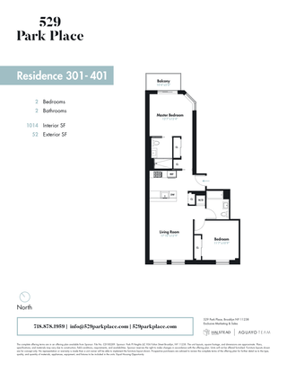 529 Park Place #310 floor plan