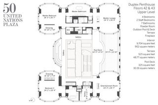 50 United Nations Plaza #DPH4243 floor plan
