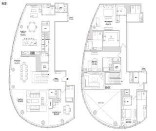 15 Hudson Yards #PH88B floor plan
