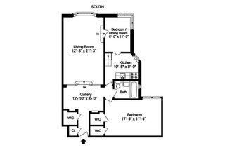 225 East 74th Street #2F floor plan