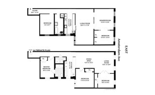 200 West 109th Street #A6 floor plan