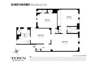 151 West 74th Street #4A floor plan
