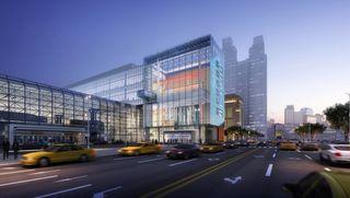 Javits Center exterior rendering