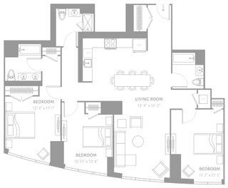 250 Park Lane South floor plans