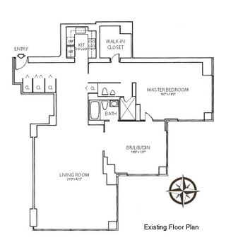 721 Fifth Avenue #55B floor plan
