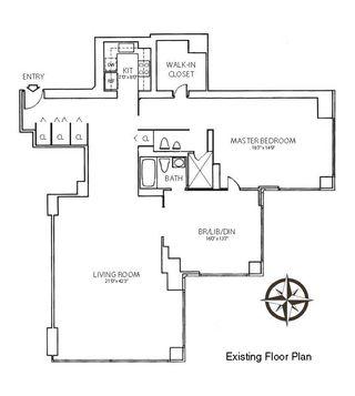 721 Fifth Avenue #55B floor plan