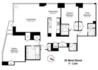 30 West Street interiors
