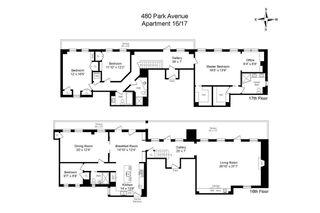 480 Park Avenue #16/17G floor plan