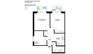 287 Grand Street #3B floor plan