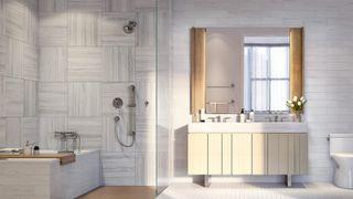 galerie bathroom rendering