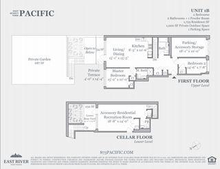 873 Pacific Street #1B floor plan