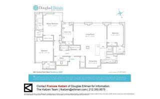 320 Central Park West #9DEF floor plan