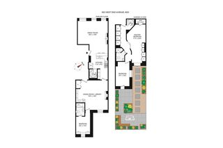 622 West End Avenue #2W floor plan