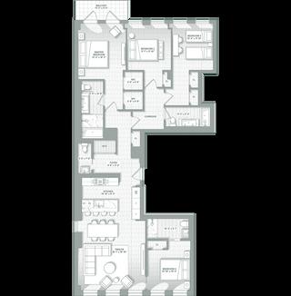 243 Fourth Avenue #6A floor plan