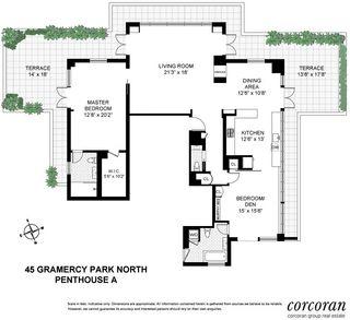 45 Gramercy Park North #PH floor plan