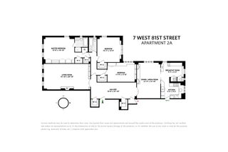 211 Central Park West #2A floor plan