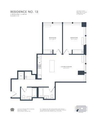 180 Water Street #2113 floor plan