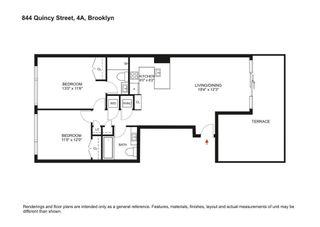 844 Quincy Street #4A floor plan