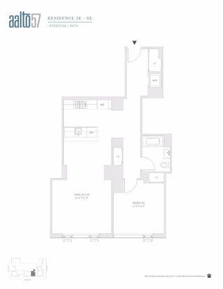 1065 Second Avenue #6E floor plan