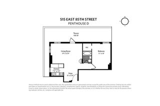 515 East 85th Street #PHD floor plan