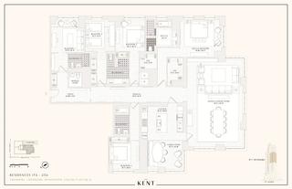 200 East 95th Street five-bedroom floor plan