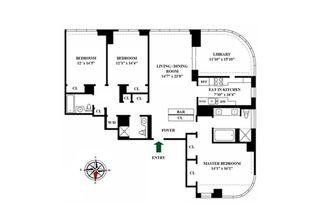 181 East 90th Street #26A floor plan