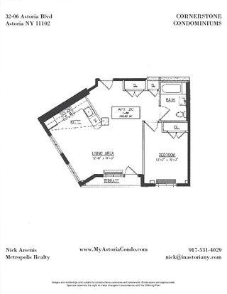 32-06 Astoria Boulevard #2C floor plan