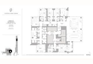 217 West 57th Street #122 floor plan