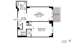 333 East 79th Street #7Y floor plan