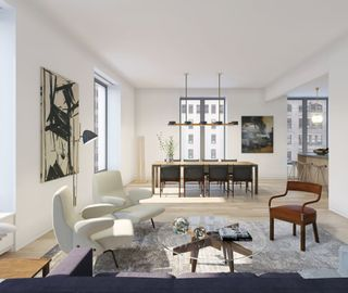 21 East 12th Street interiors