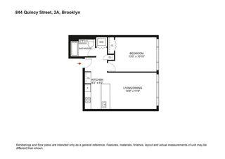 844 Quincy Street #2A floor plan