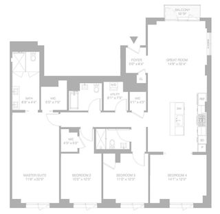 509 Pacific Street #5A floor plan
