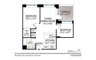 456 West 167th Street #PHE floor plan