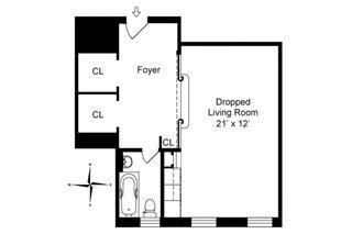 125 West 96th Street #1B floor plan