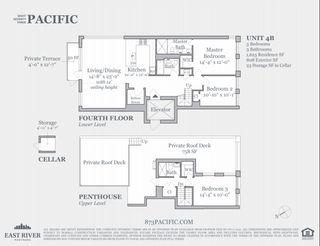 873 Pacific Street #4B floor plan