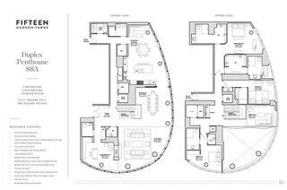 15 Hudson Yards #PH88A floor plan