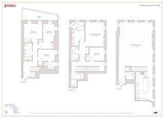 34 Prince Street #2A floor plan