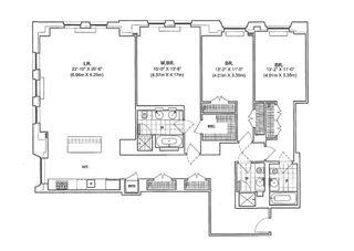 15 Broad Street #1010 floor plan