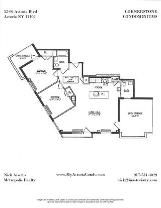 32-06 Astoria Boulevard #PH2 floor plan